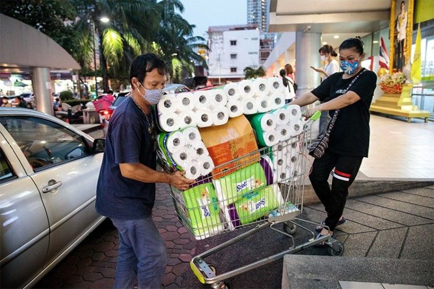Wuhan Virus Bangkok