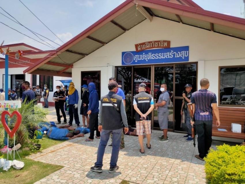 Prison break Thailand