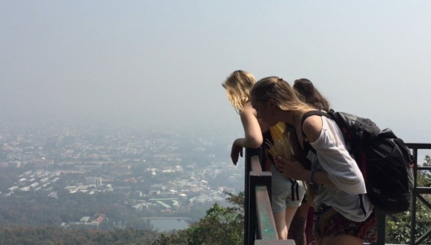 worst air in world in chiang mai