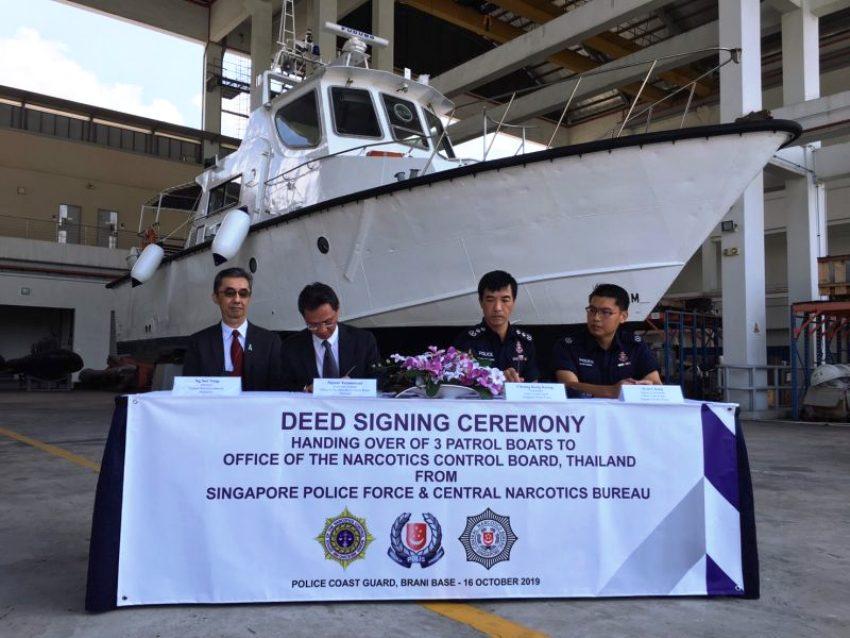 thai patrol boats