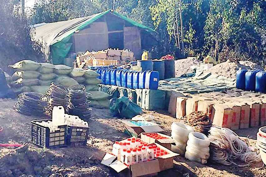 Drug Syndicates Producing Ingredients for Meth in Golden Triangle