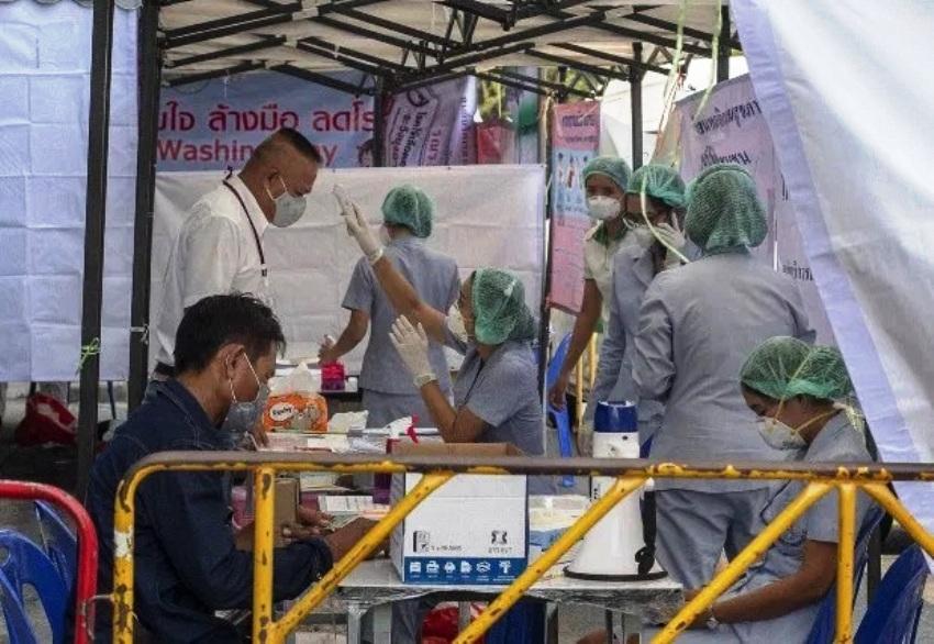 Covid-19 patients Thailand