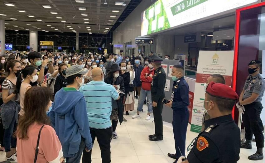 Chaos Erupts at Suvarnabhumi Airport