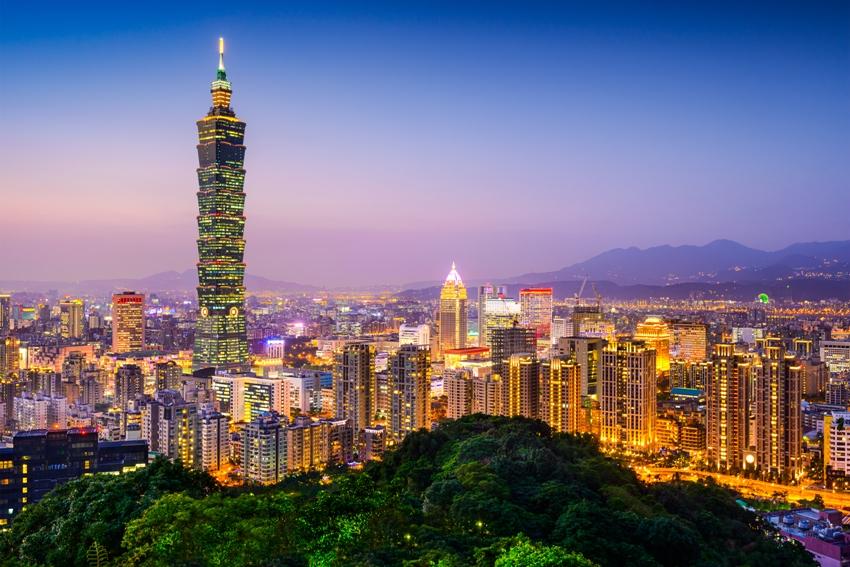 Bangkok to Taipei holiday