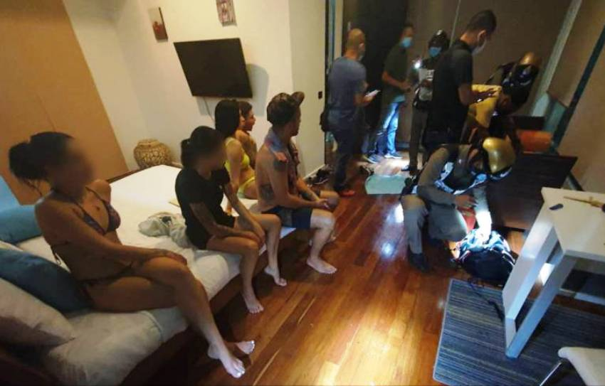 Foreigners Arrested in Phuket for Partying