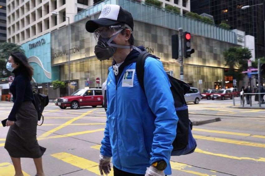 foreigners Hong Kong Wuhan virus