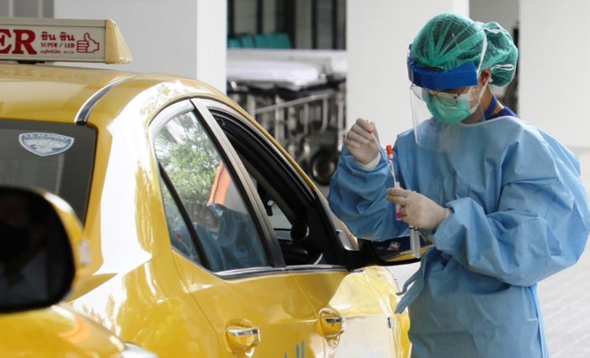 Taxi Driver Coronavirus Thailand