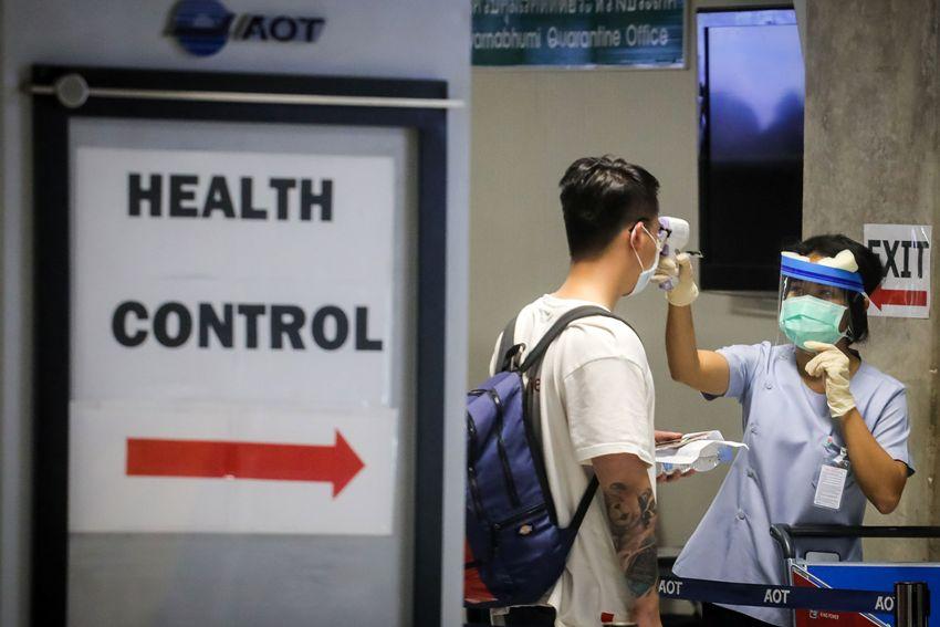 Passengers Jumped quartine at airport