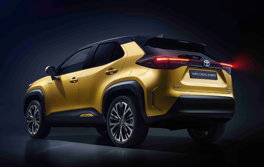Toyota gives new Yaris Cross SUV more distinction