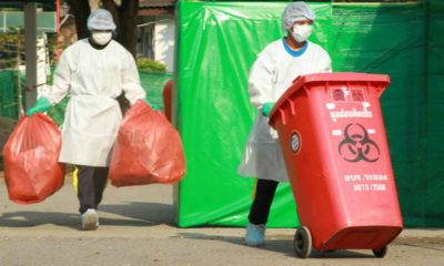COVID Increases the Amount of Infectious and Plastic Waste