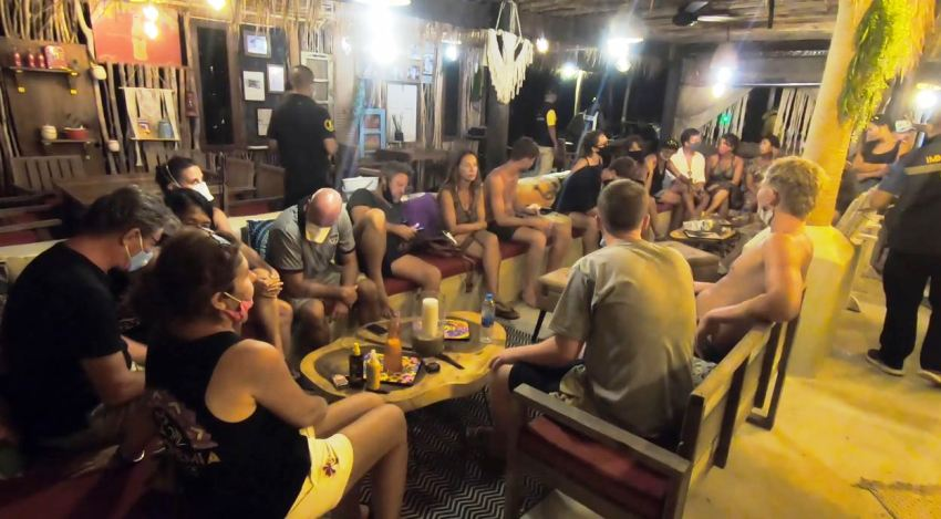 koh samui, foreign tourists, Thailand