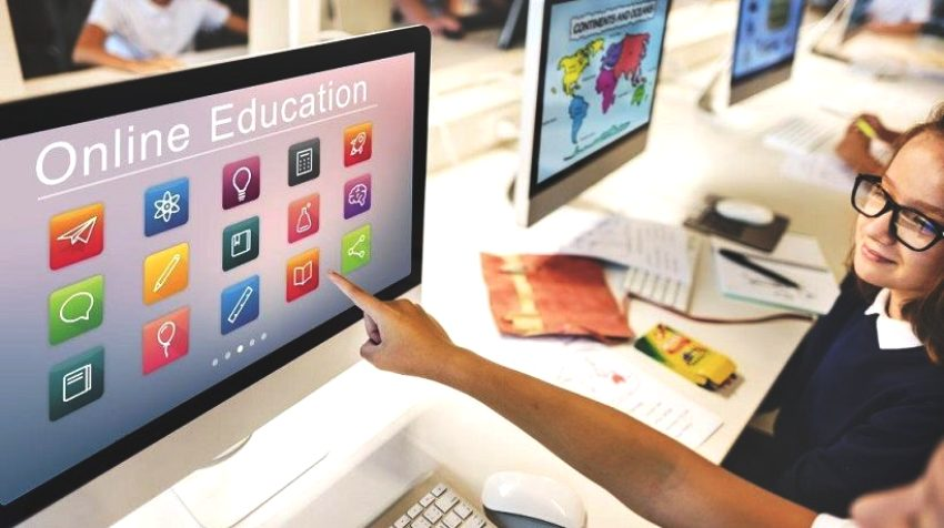online learning and TV education