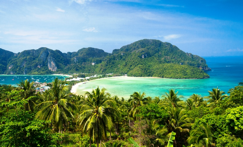 phukey, phi phi island, thailand