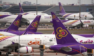 Thai Airways International Flights Grounded, Bankruptcy Looming