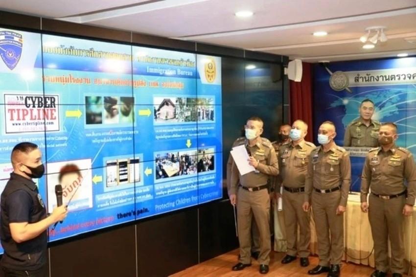 Thailand, Immigration police, Porn, Arrest, Child abuse
