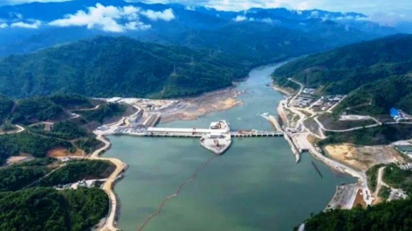 china dams mekong river in laos