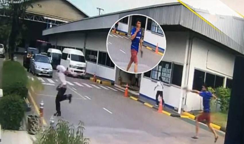 Shots co-worker, CCTV, Thailand