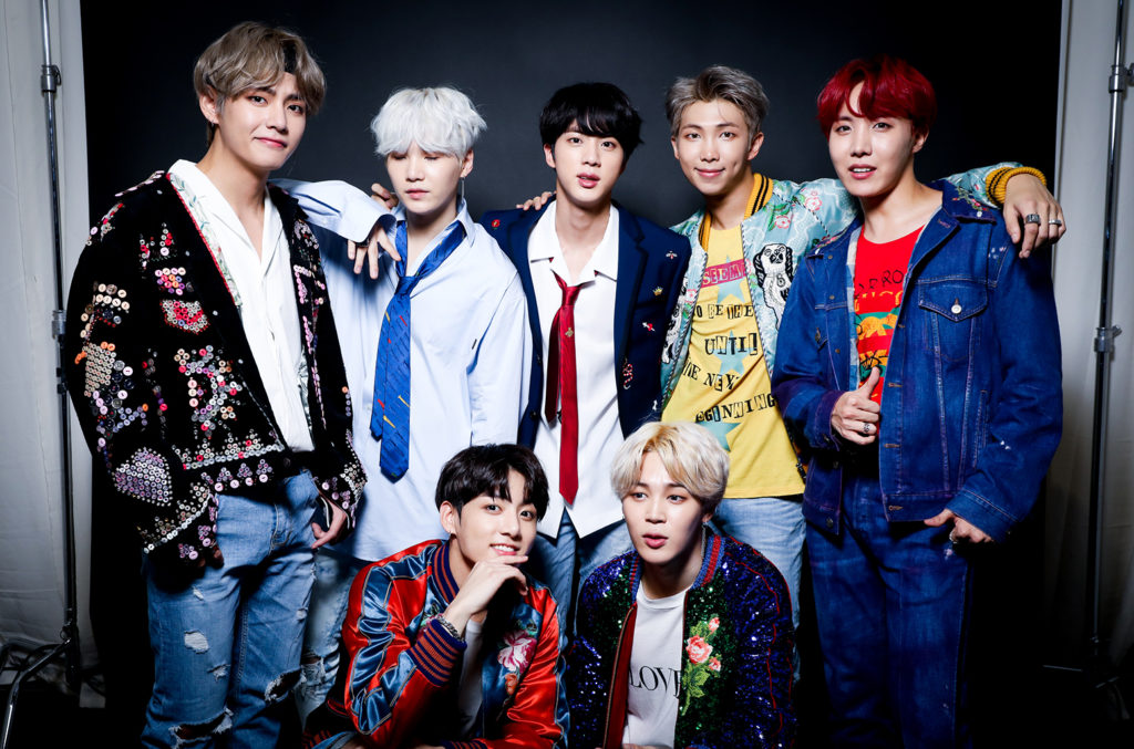 K-pop band BTS