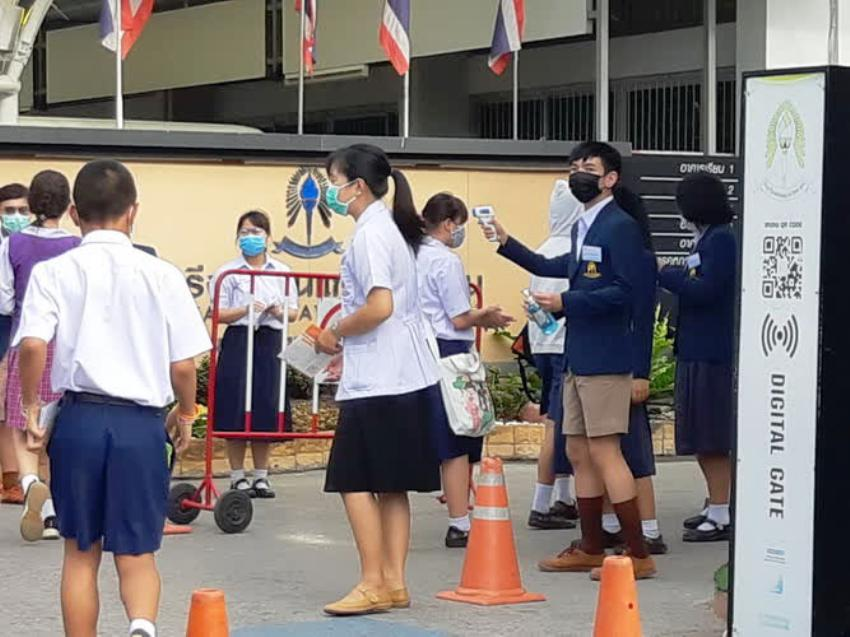 Thailand, school, students