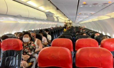 Social Distancing, air travel, thailand