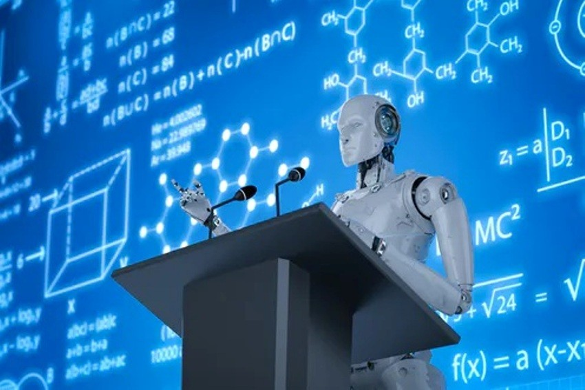 learning, Artificial Intelligence .Robots. Educational Institutions