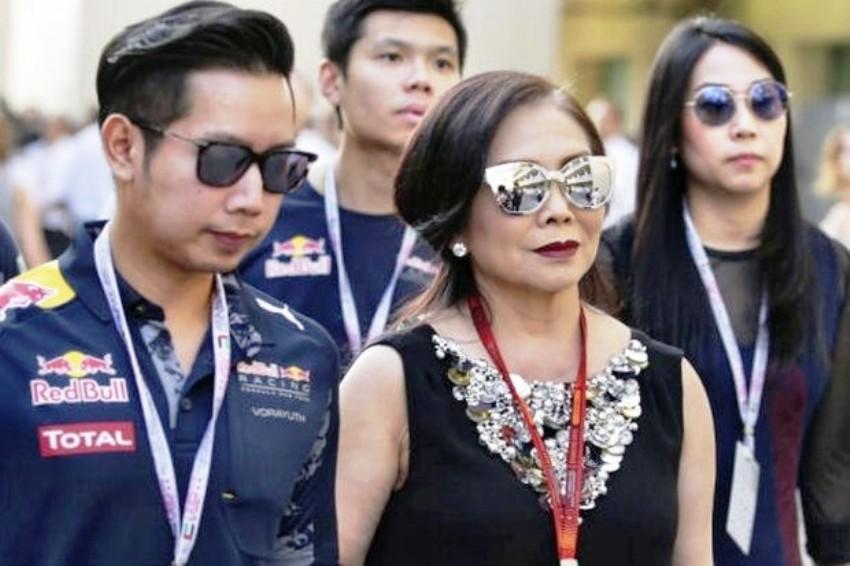 Red Bull heir, Thailand, Police