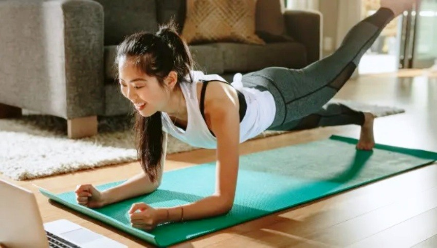 Yoga, Home, Healthy, stay fit