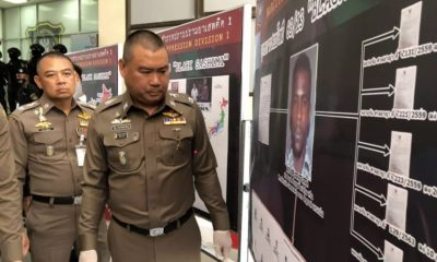 Narcotics Suppression Police seize drugs in Thailand