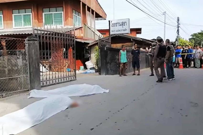 Police, murder, Suicide, thailand, suicide