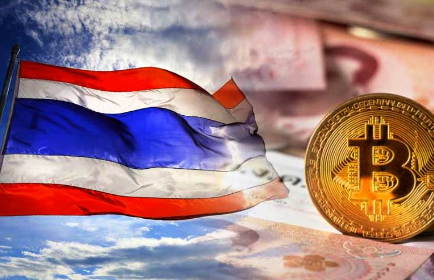 Bitcoin, Cryptocurrency,Thailand