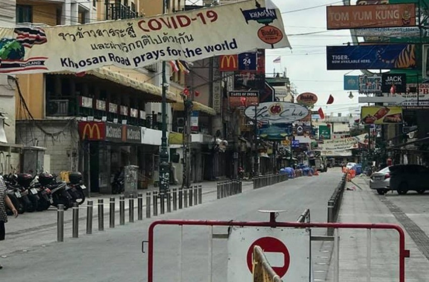 Bangkok, Thailand, Foreign Tourists, Covid-19