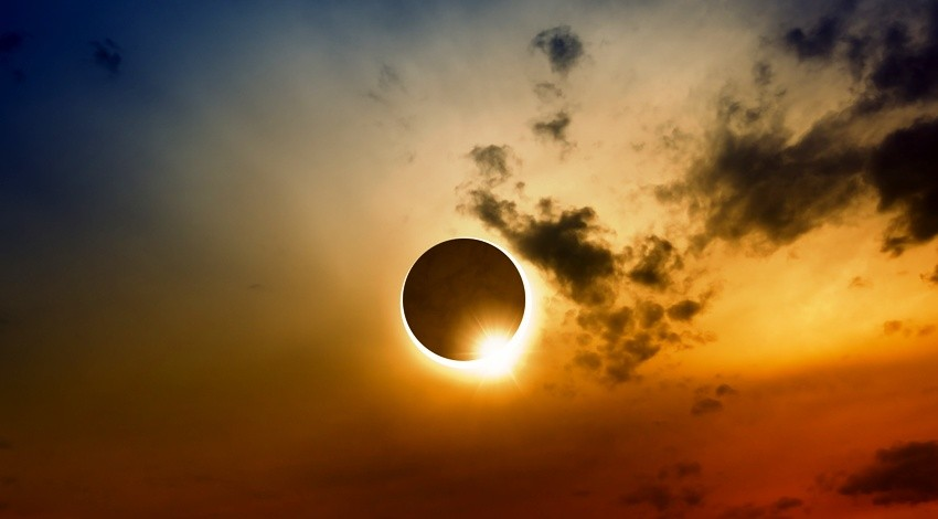 Solar eclipse, Ring of fire, Thailand