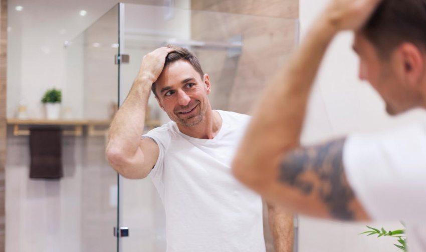 Minoxidil, effects, hair loss