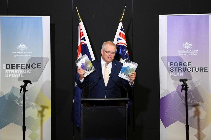 Australia, Defence spending,china