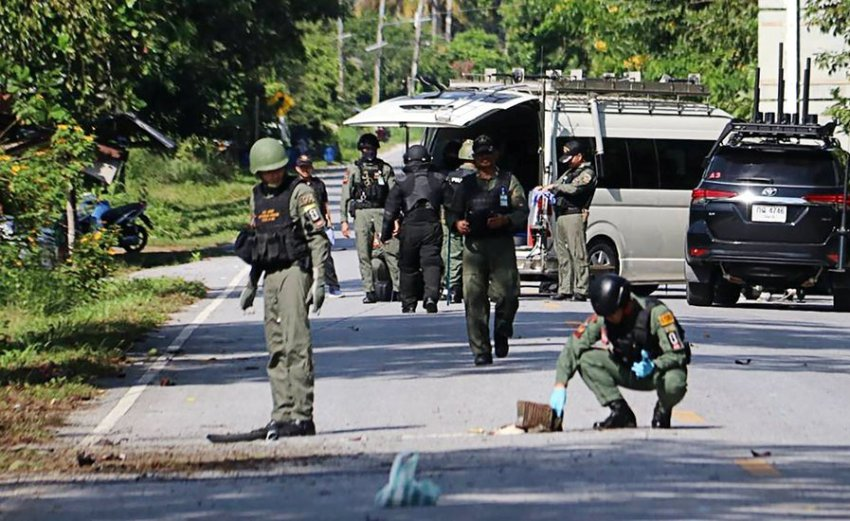 Bomb Blasts, Thailand, Deep South