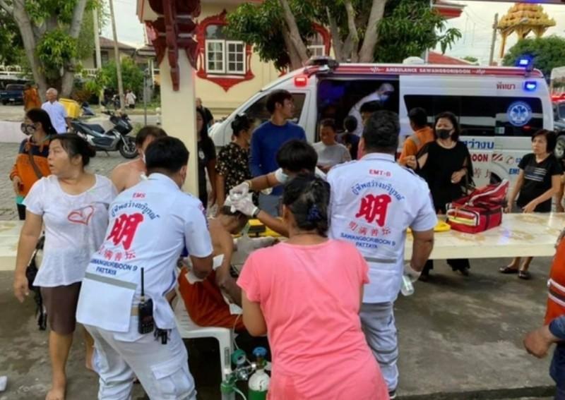 Crematorium Explodes,Undertakers,Thailand