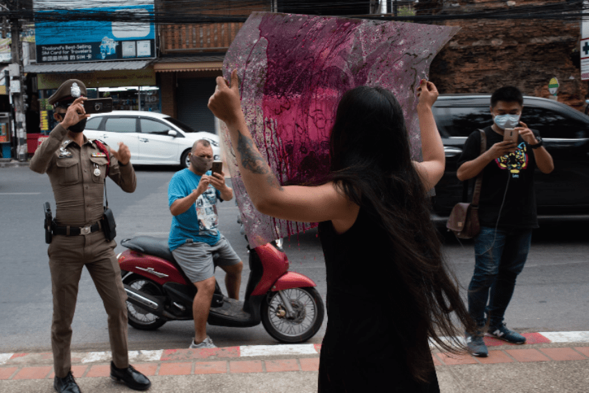 Freedom of Speech, Artists, Chiang Mai