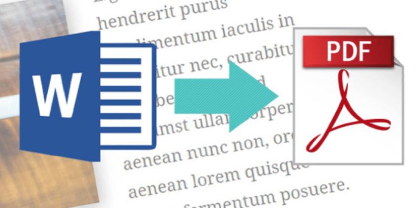 Convert DOC to PDF Online