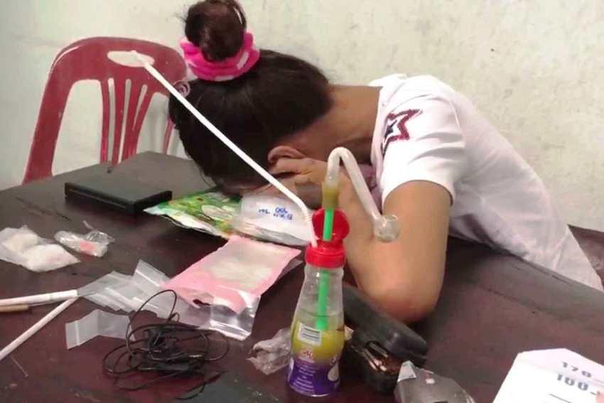 Crystal meth, Police, Thailand
