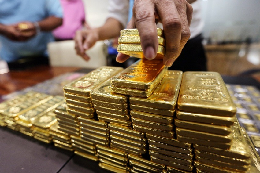 Gold, Trading, Thailand