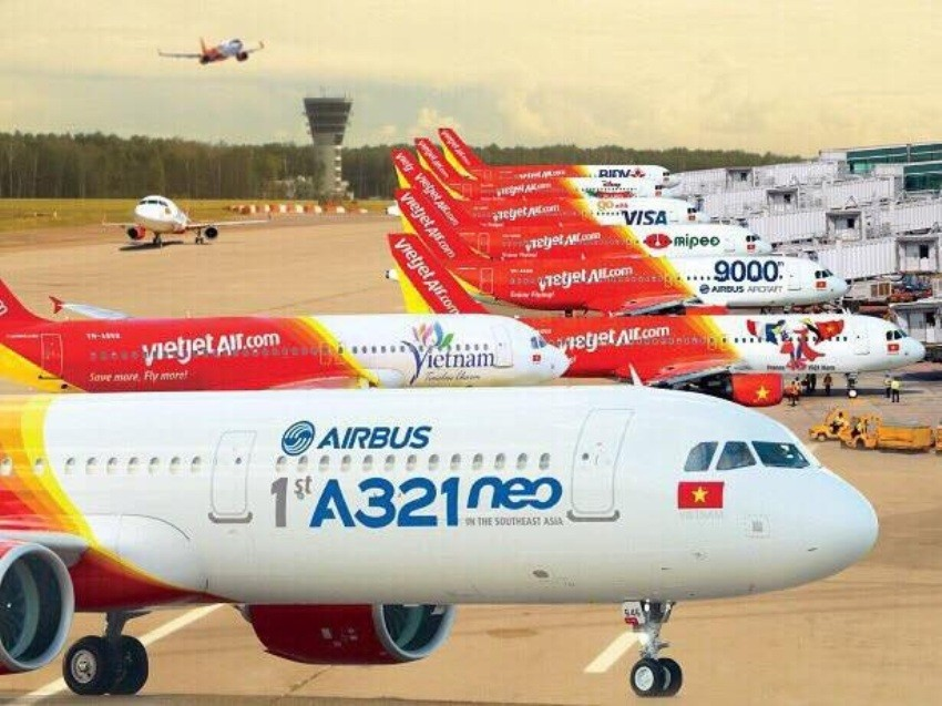 Airbus, Vietjet, low cost carrier