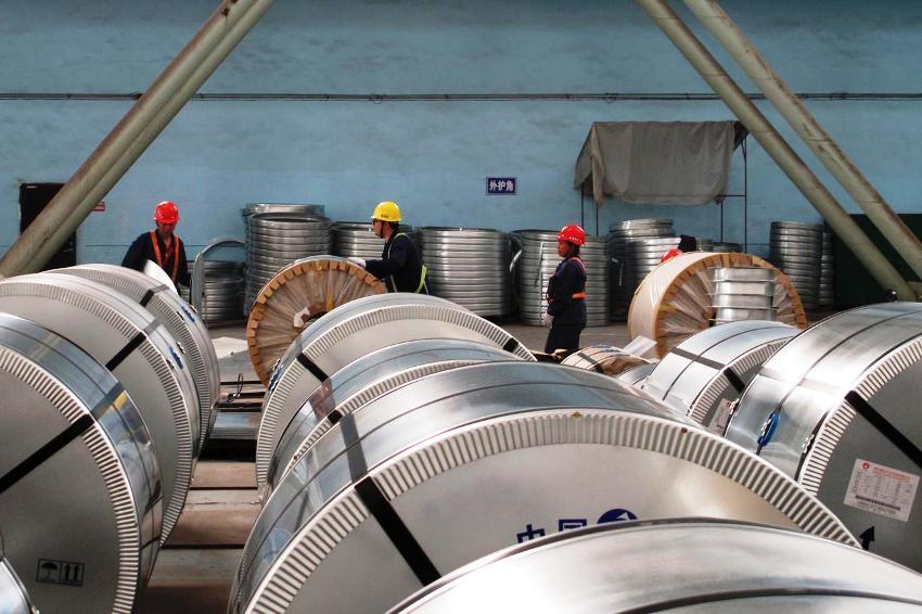 treated steel, china, nickel