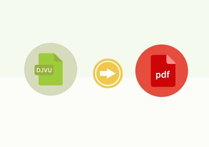 Convert DJVU to PDF, Converters