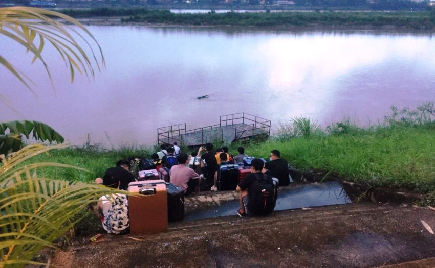 Illegal Entry, Chinese, Mekong, Chiang Rai, Thailand