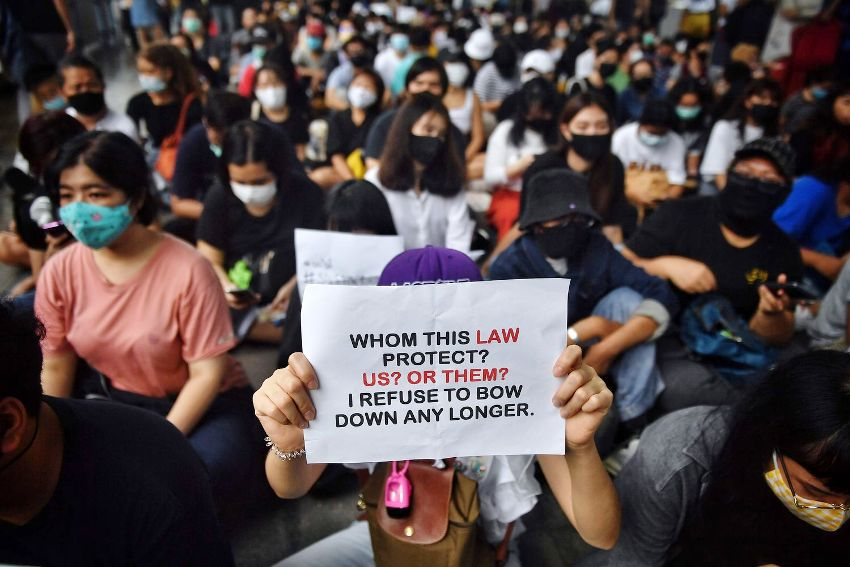 Students, Monarchy, Thailand, Protests