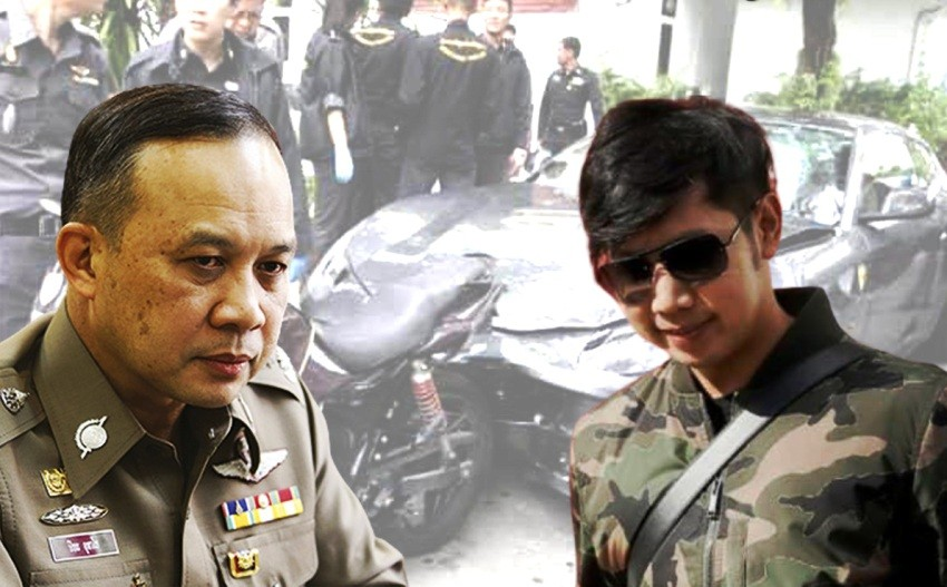 Red Bull Heir case, Thailand, Police