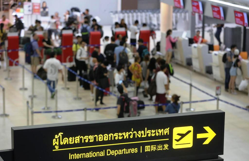 Foreign tourists, phuket, thailand