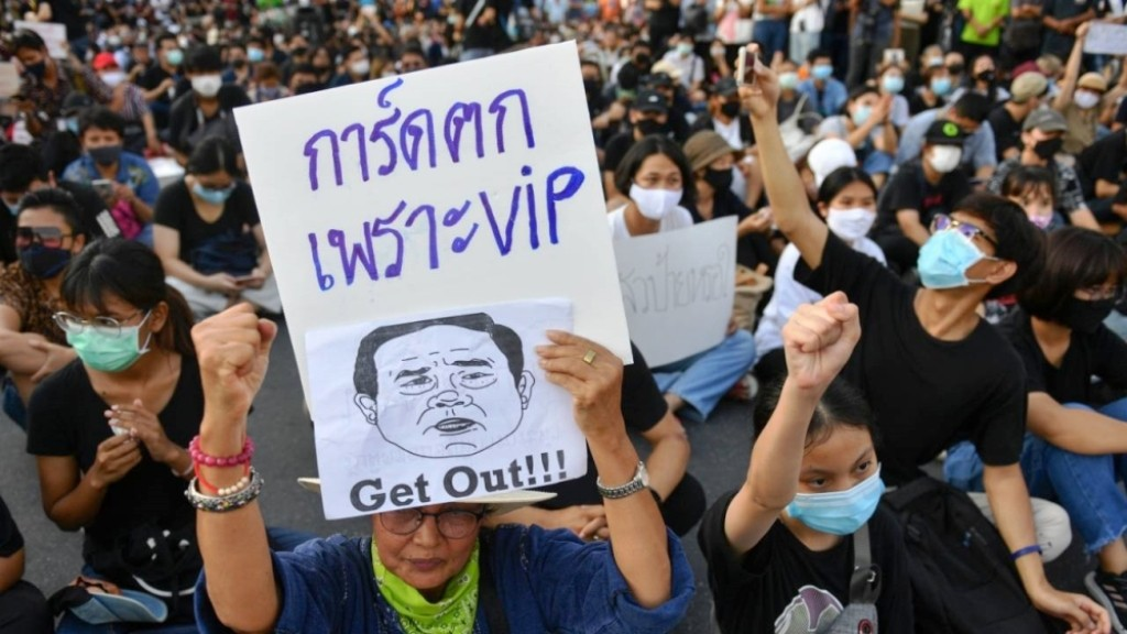 state of emergency, Thailand, Anti-government protests
