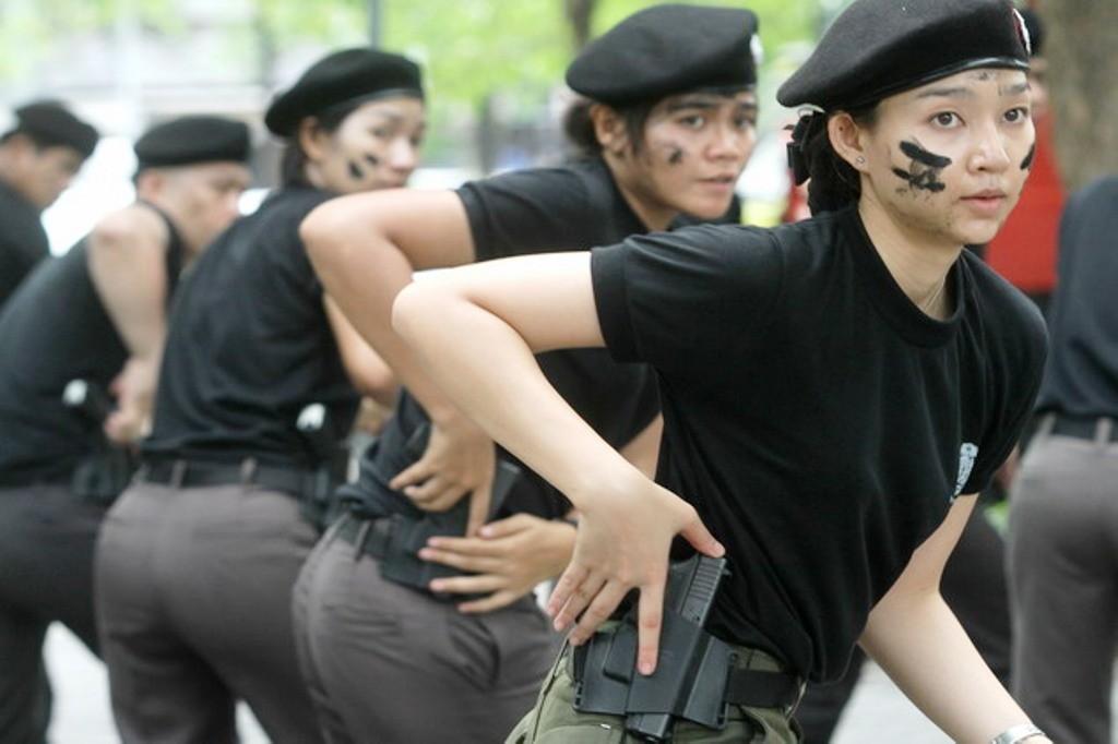 Women, Law Enforcment, Asean