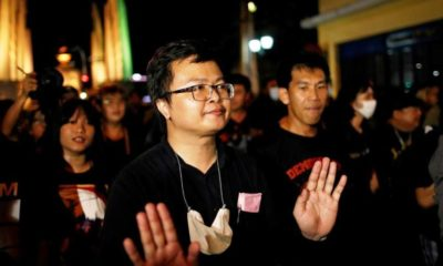 Thai rights lawyer, Monarchy, Thailand, Protests